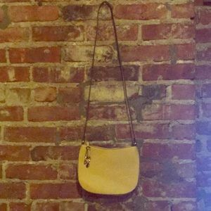 H&M Mustard cross body handbag